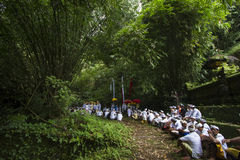 Balinese ceremony Royalty Free Stock Photography