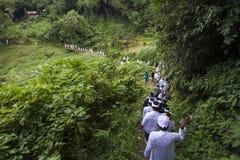 Balinese ceremony Stock Image