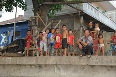 Balinese children Royalty Free Stock Images