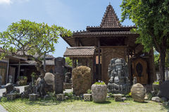 Balinese craftsmanship royalty free stock images