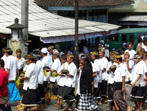 Balinese Cremation Ceremony Stock Image