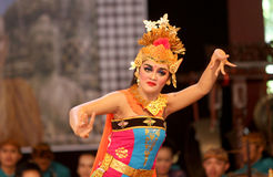 Balinese dance Royalty Free Stock Images