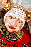 Balinese Dancer. Wearing the mask of the Old Man, Topeng Tua Royalty Free Stock Images