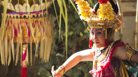 Balinese Dancer Royalty Free Stock Photos