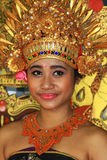 Balinese dancer in costume Royalty Free Stock Image
