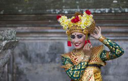 Balinese dancer Stock Images