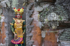 Balinese dancer Royalty Free Stock Images