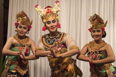 Balinese dancers stock photos
