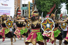 Balinese Dancers Royalty Free Stock Photography