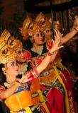 Balinese Dancers Royalty Free Stock Photo