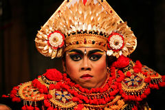 Balinese Dancers Royalty Free Stock Photos