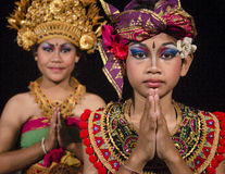 Balinese dancers Stock Photography