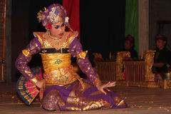 Balinese dances and expressions Stock Image