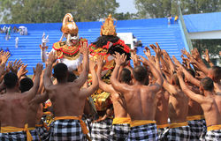 Balinese dances Royalty Free Stock Images