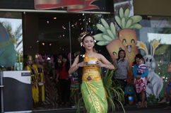 Balinese dances Stock Image