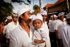 Balinese Day of Silence Stock Photo