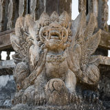 Balinese demon statue Royalty Free Stock Image