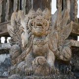 Balinese demon statue Royalty Free Stock Image