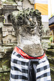 Balinese demon statue stock image