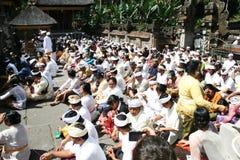 Balinese fedele Immagini Stock Libere da Diritti