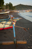 Balinese Fishing Boat Royalty Free Stock Image
