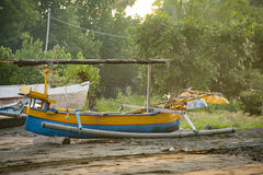 Balinese Fishing Boat Stock Images