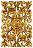 Balinese Flower Ornament Sculpture Stock Photography