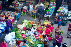 Balinese food market Royalty Free Stock Photo