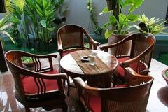 Balinese furniture Stock Photo
