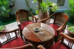 Balinese furniture Stock Photography