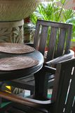 Balinese furniture Royalty Free Stock Photo