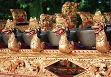 Balinese Gamelan Fotografia Stock