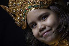 Balinese Girl Royalty Free Stock Photo