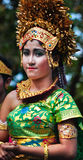 Balinese Girl with traditional dress Stock Image
