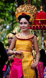 Balinese Girl with traditional dress Royalty Free Stock Photo