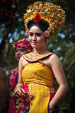 Balinese Girl with traditional dress Stock Photography
