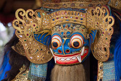 Balinese God statue in Central Bali temple Royalty Free Stock Photography