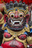 Balinese God statue in Central Bali temple. Indonesia Stock Photo