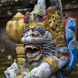Balinese God statue in Central Bali temple. Indonesia Royalty Free Stock Image