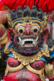 Balinese God statue in Central Bali temple. Indonesia Stock Image