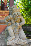 Balinese God statue in temple complex, Bali, Indonesia Stock Image