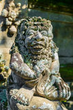 Balinese God statue in temple complex, Bali, Indonesia Royalty Free Stock Images