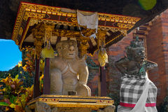 Balinese God statue in temple complex, Bali, Indonesia Royalty Free Stock Photos