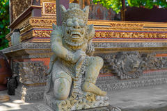 Balinese God statue in temple complex, Bali, Indonesia Royalty Free Stock Photo