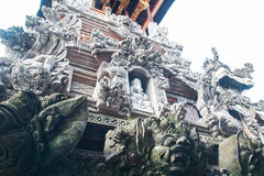 Balinese God statue Tower Royalty Free Stock Photos