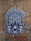 Balinese Graffiti op de Muur Royalty-vrije Stock Foto's
