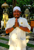 Balinese Greeting Royalty Free Stock Photography