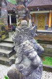 Balinese Gunung Kawi temple sculptures Stock Photo