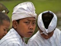 Balinese Hindu boy Royalty Free Stock Images