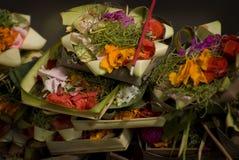 Balinese Hindu Offerings Stock Photography